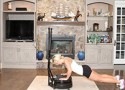 Which vibration training machine increases metabolism and VO2 the most?